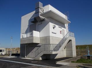 県西水道事務所東町取水場非常用発電機棟建築工事