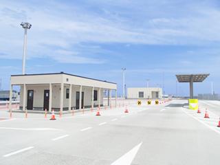 茨城港湾事務所中央ふ頭守衛室等新築工事
