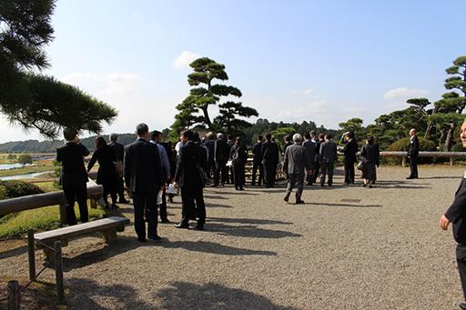 日本でも有数の規模を誇る偕楽園の現地視察状況